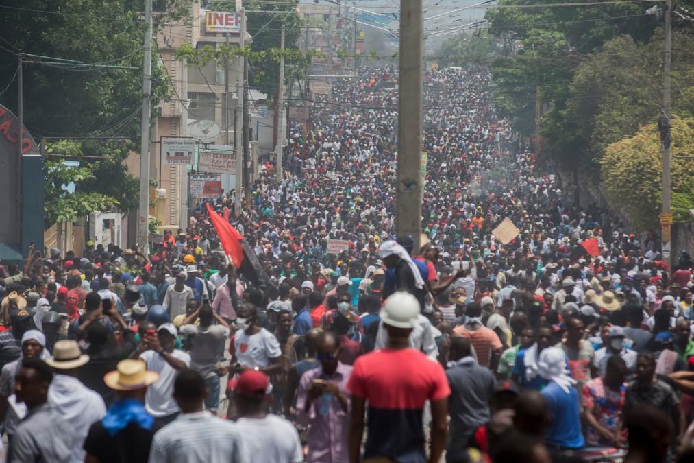 MSF Haïti Manifestations Violences