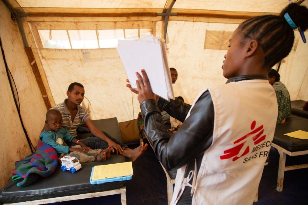 MSF Ethiopia childhood diseases