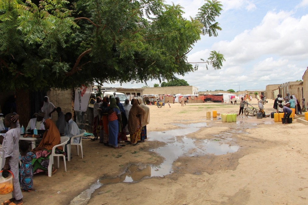 Personnes déplacées. Nord-est du Nigéria.