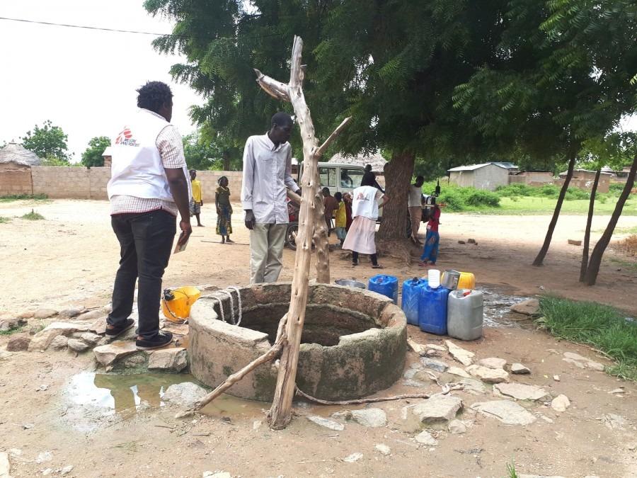 Cameroun Choléra MSF eau et assainissement