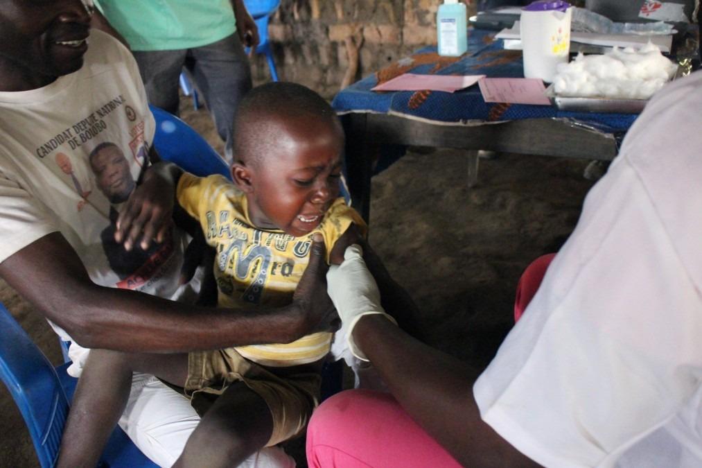 Épidémie de rougeole. RDCongo.