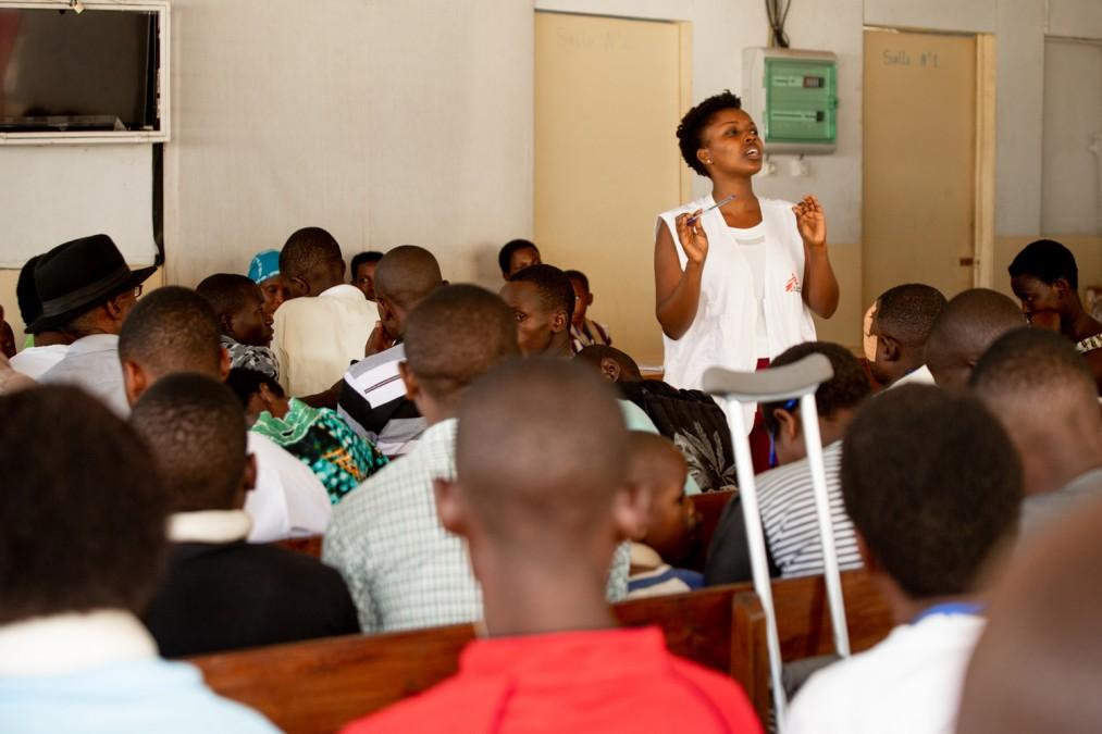 MSF, Burundi, Traumatologie, Gratuité des soins