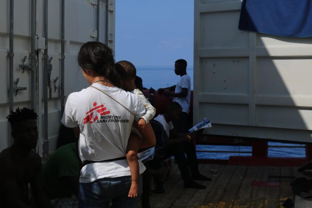 Ocean Viking, MSF, Mer Méditerrannée, Lampedusa, SOS Méditerrannée