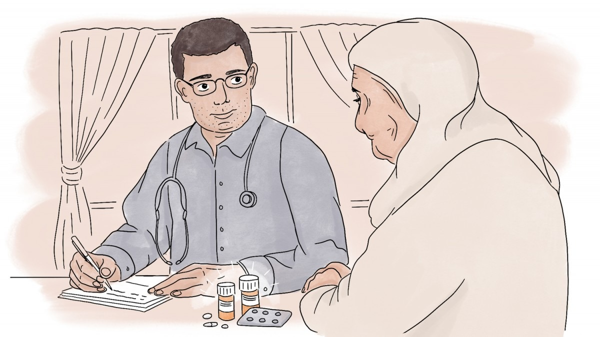 Syrie, MSF, greffe de rein, traitement, conflit