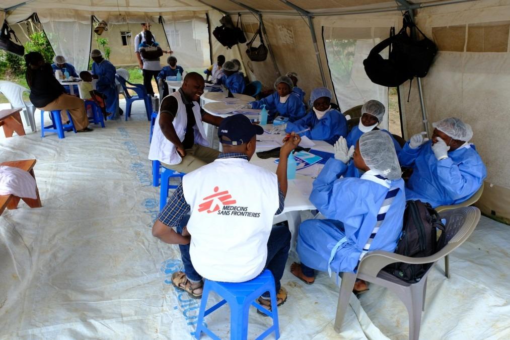 DRC, Ebola, Vaccination, Beni, MSF