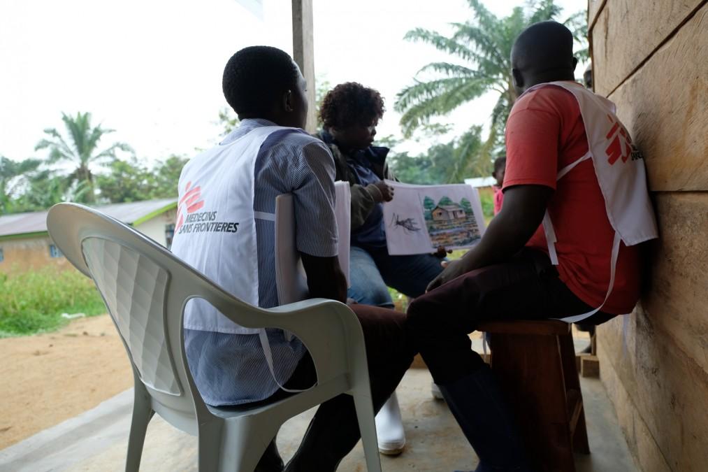 MSF, Ebola, RDC, malaria