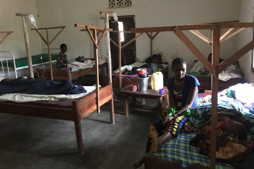 MSF, Ebola, maternity unit, DRC