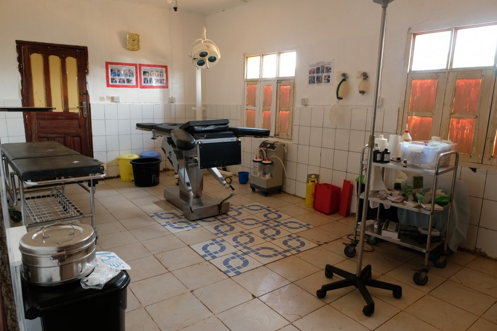 MSF, operating theater, DRC, Ebola
