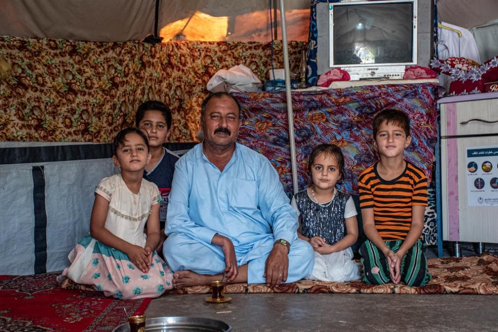 MSF, IDPs, Displaced people, Iraq, Diyala governorate