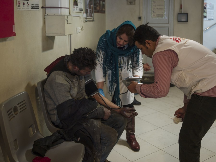 MSF, personnes marginalisées, Iran, Théréran