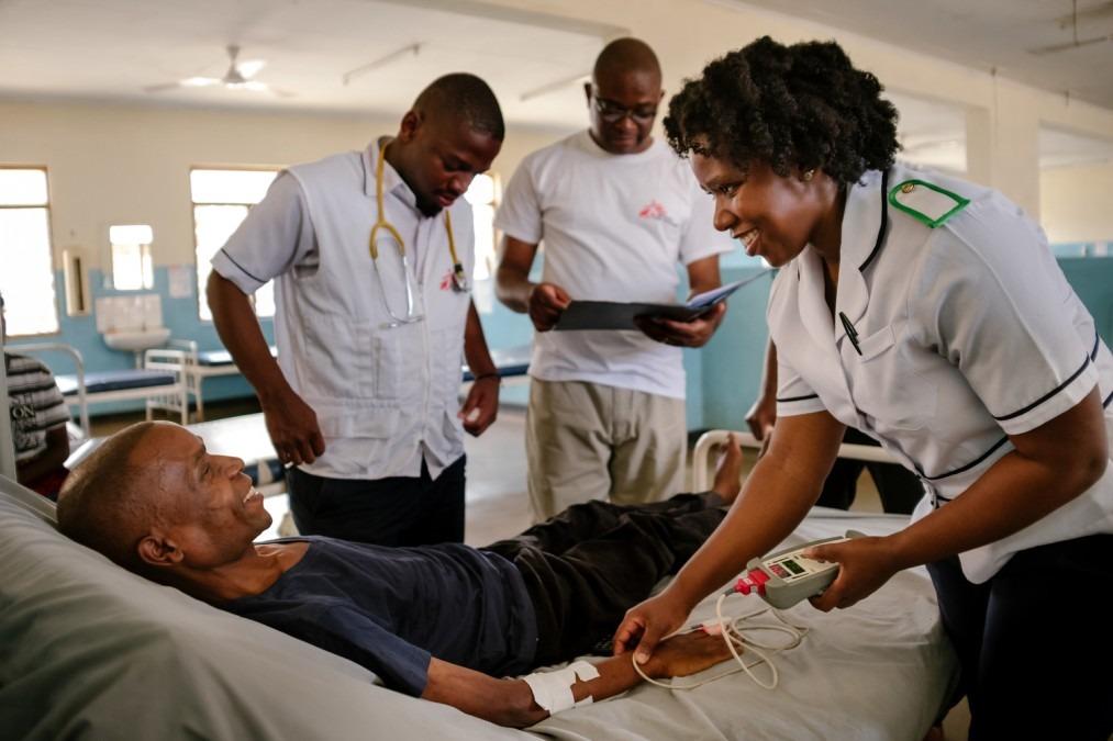 VIH, Malawi, MSF