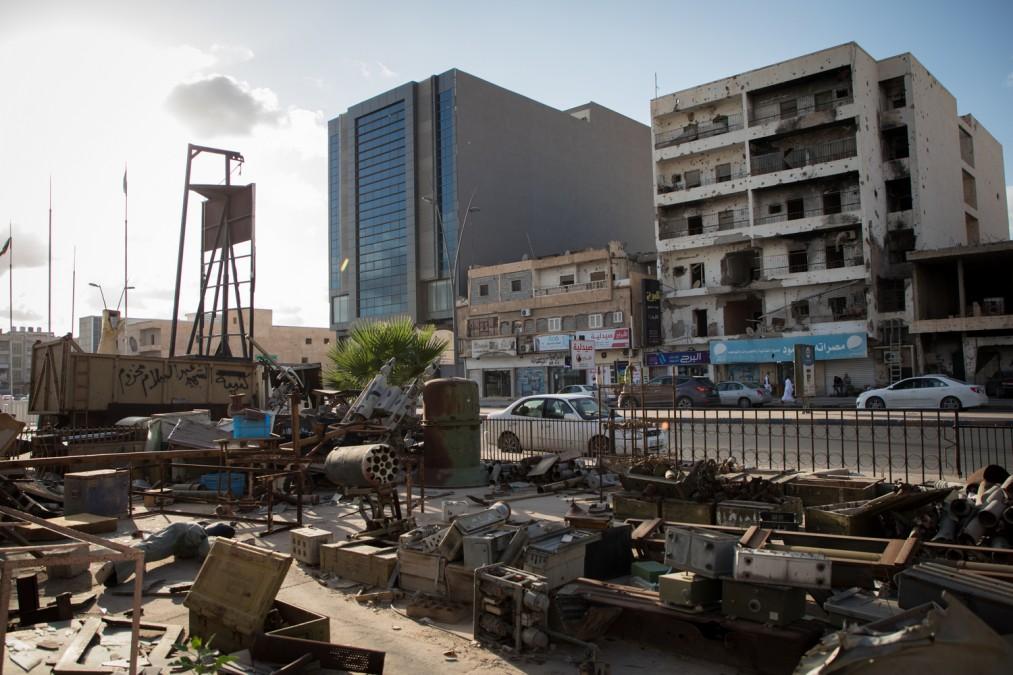 Libya, migrants, MSF, detention centre