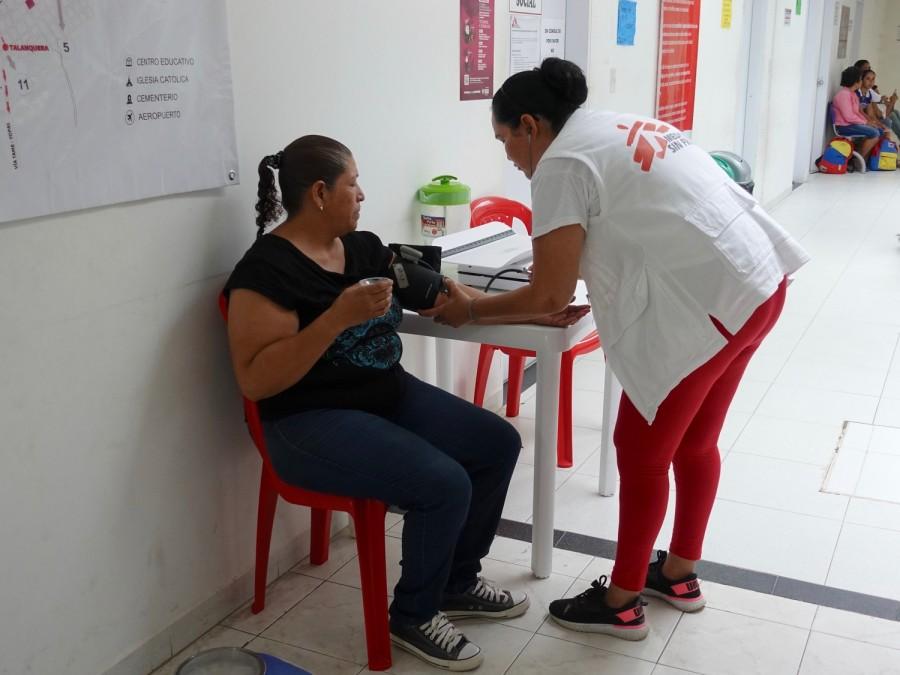 Migrants, Venezuela, Colombia, MSF