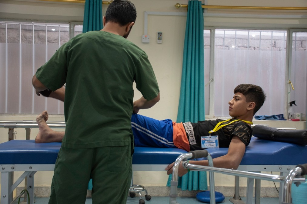 Irak, BMRC, blessure traumatique