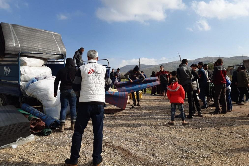Syrie, camp de déplacés