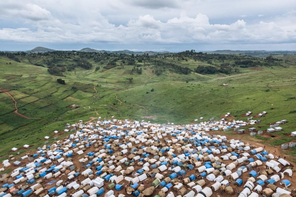 RDC, personnes déplacées, MSF