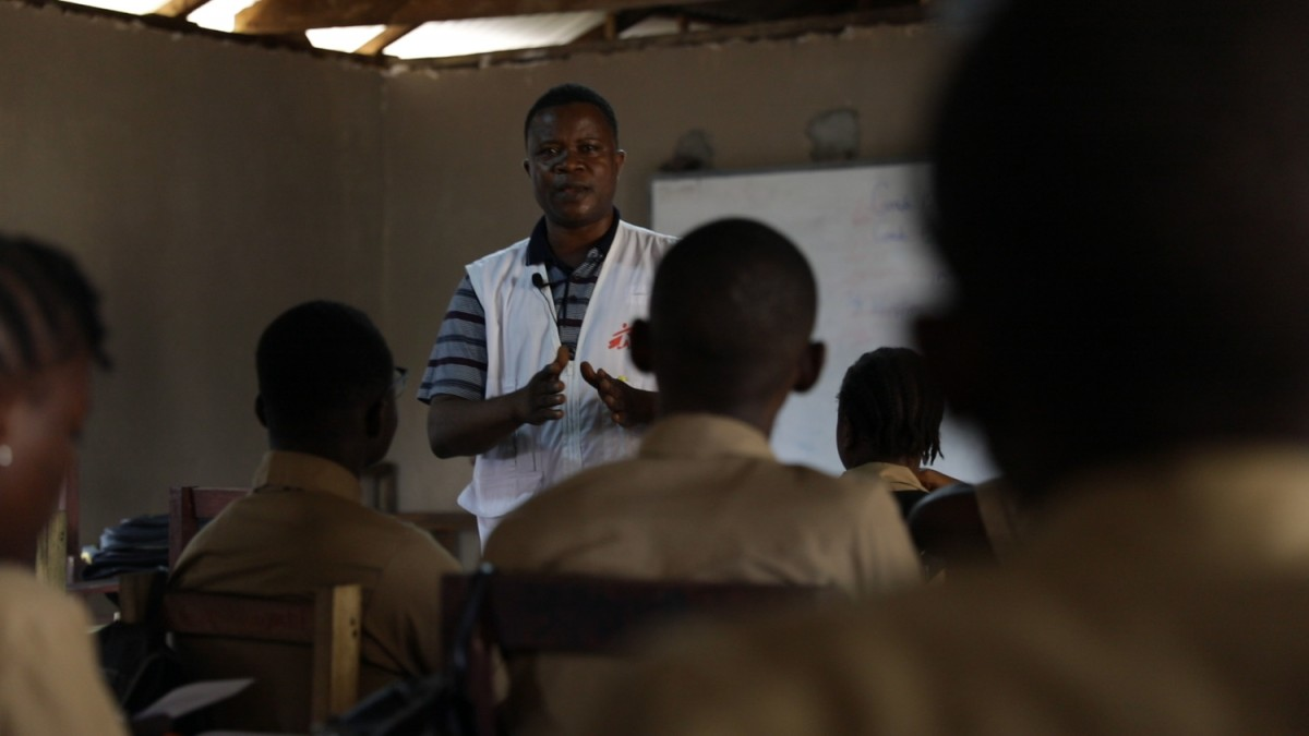 Libéria, épilepsie, MSF