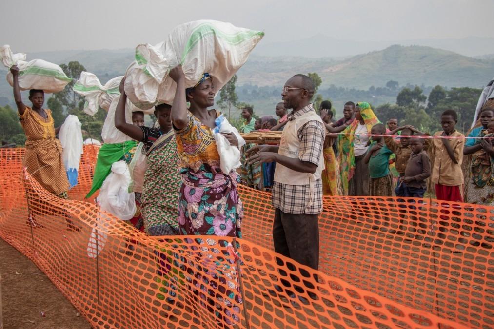RDC, personnes déplacées. MSF