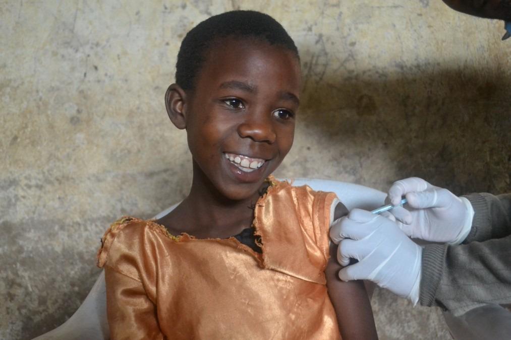Malawi, cancer du col de l'utérus, vaccination