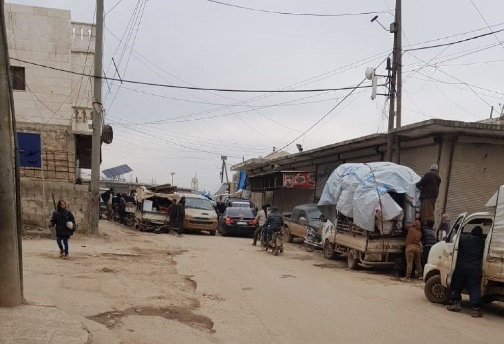 Syrie, personnes déplacées, Idlib, MSF
