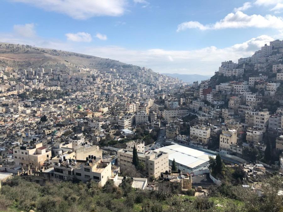 Naplouse. Cisjordanie. Palestine. Covid-19.