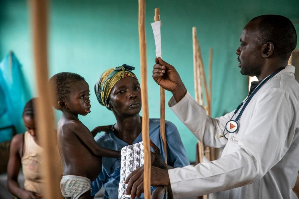 Rougeole, épidémie, MSF, RDC, vaccination