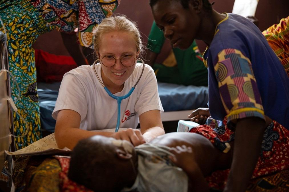Rougeole, épidémie, vaccination, CAR, MSF