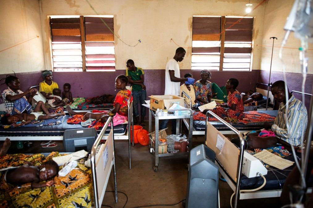 Rougeole, épidémie, vaccination, RCA, MSF