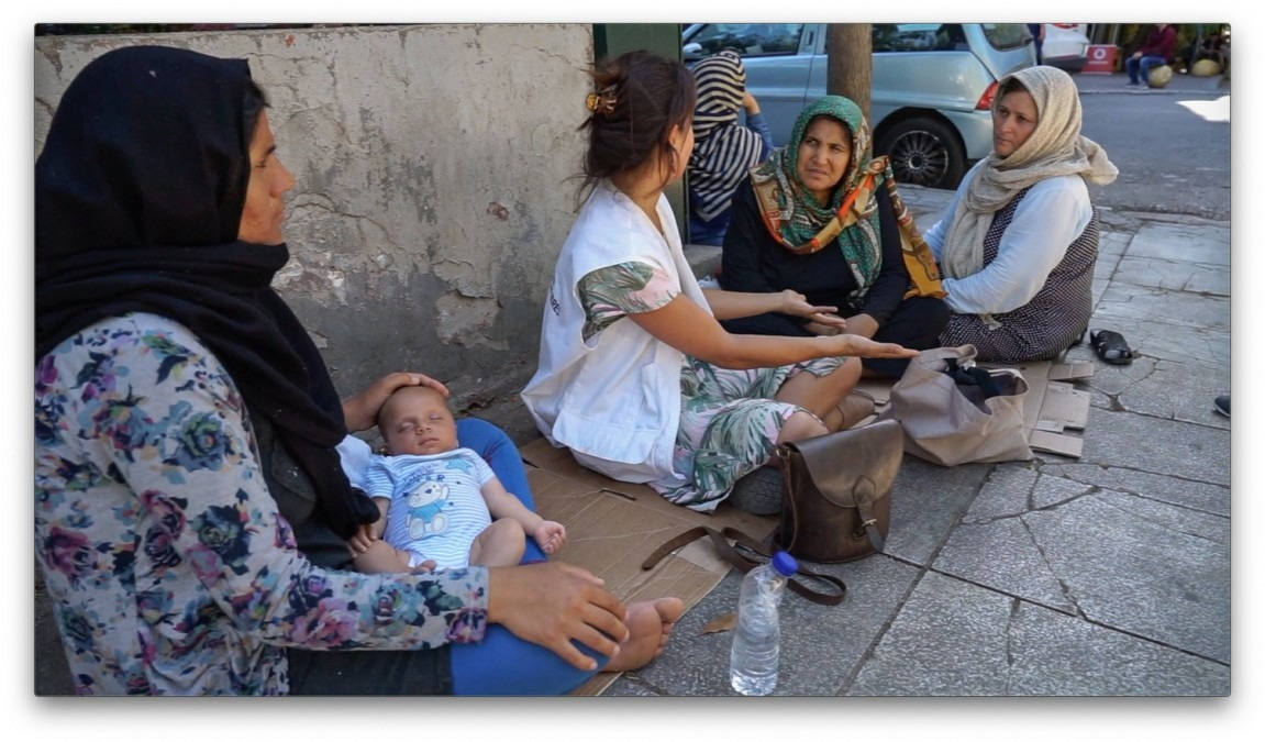 Grèce. Réfugiés. Sans-abri. Athènes.