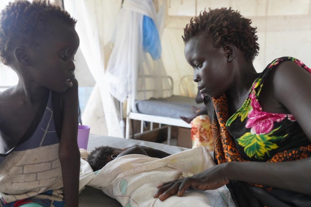 Soudan du Sud. Vaccination. Rougeole. Pibor.