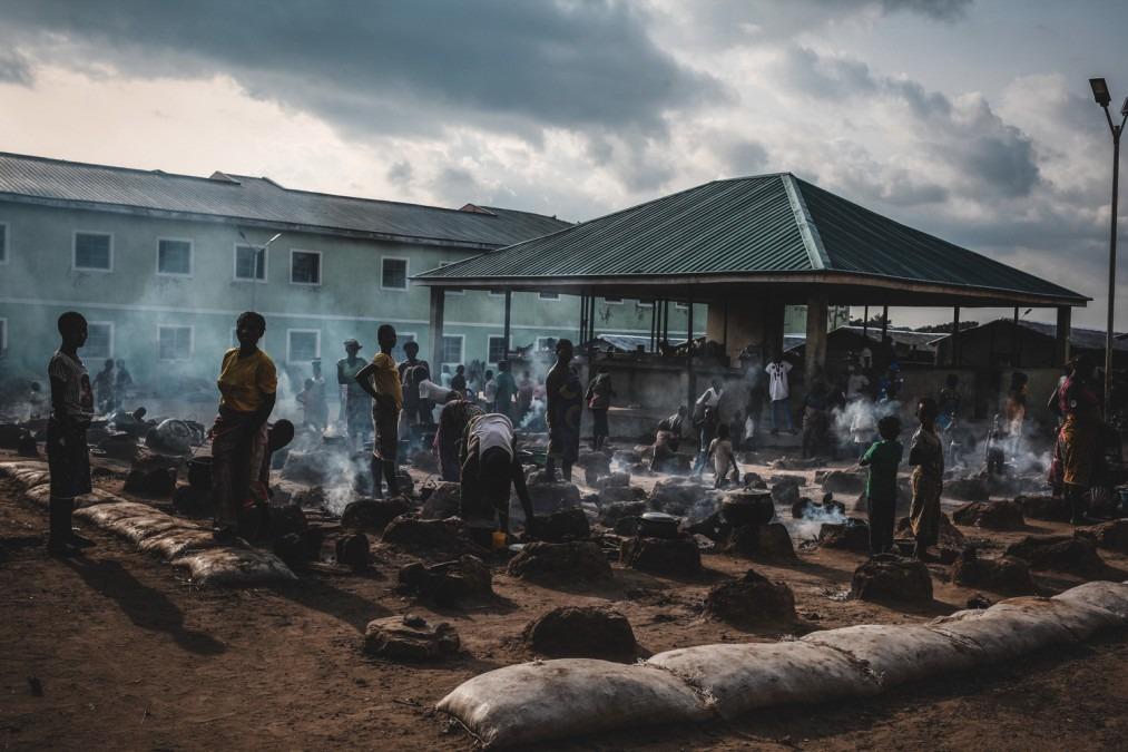 Agabana, Nigeria, MSF, refugees, IDPs