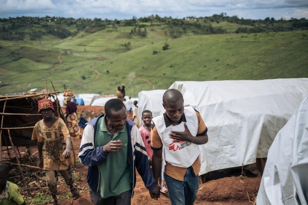MSF, Health promotor, DRC, Alexis Huguet