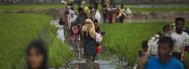 International humanitarian access to Rakhine state must