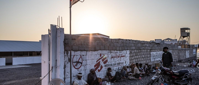 Yémen Hôpital chirurgical Mocha MSF