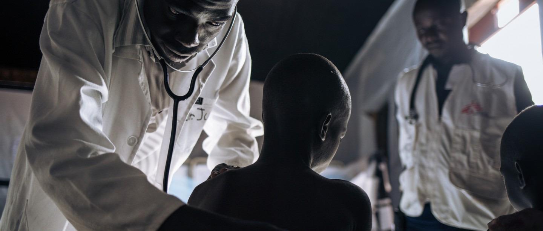 MSF; épidémie, rougeole, urgence, vaccination