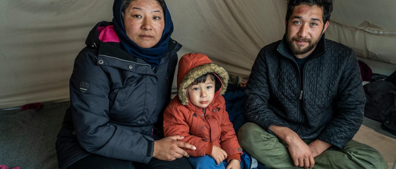 Grèce, réfugiés, camp de Moria, enfants malades