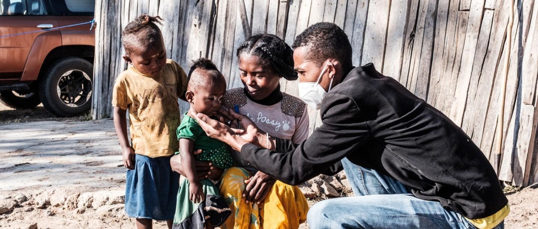 74 000 enfants de la région sud de Madagascar souffrent de malnutrition aiguë.