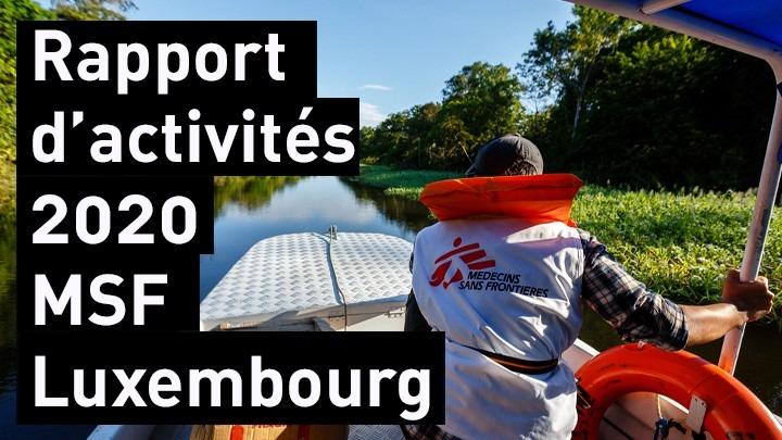 Rapport d'activités 2020 MSF Luxembourg